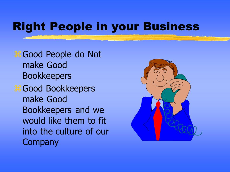 Right People in your Business