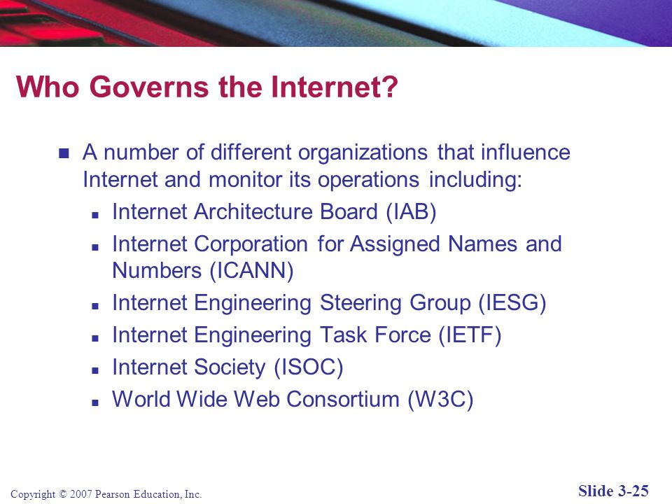 Who Governs the Internet