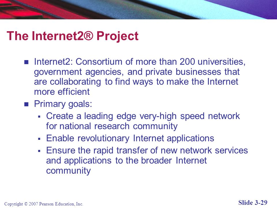 The Internet2® Project