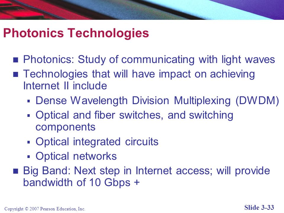 Photonics Technologies
