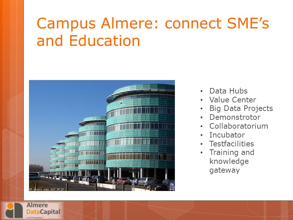 Campus Almere: connect SME's and Education