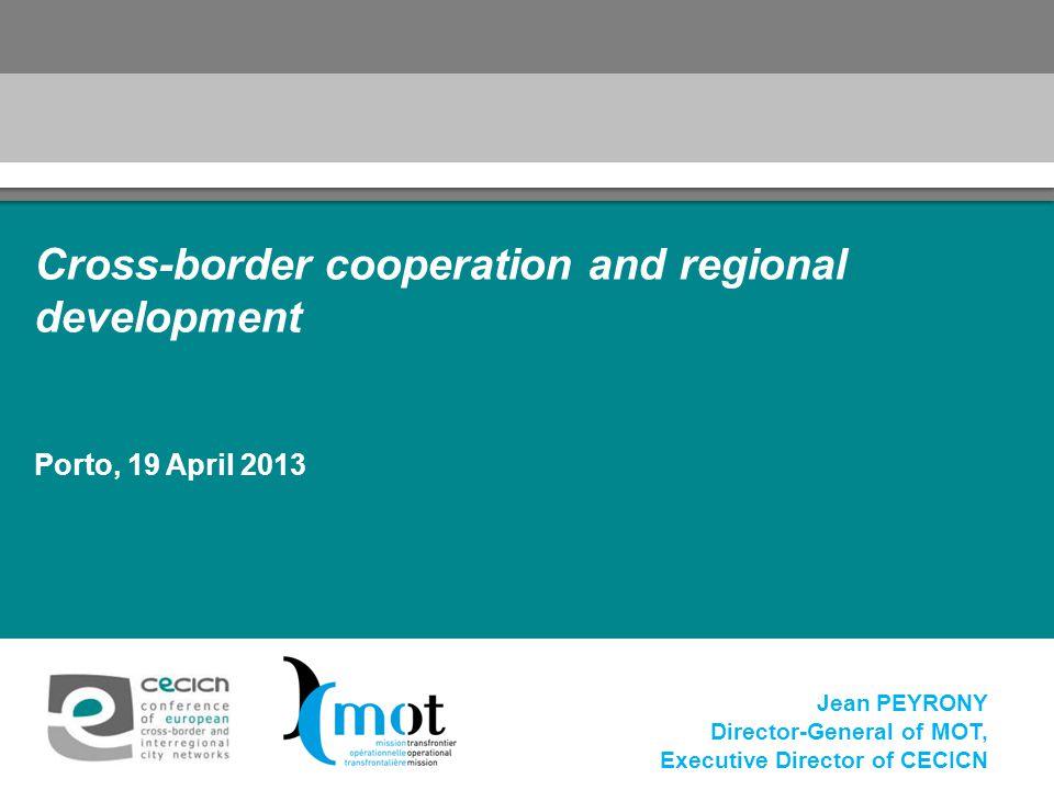 Cross-border cooperation and regional development