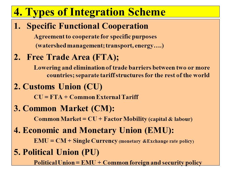 4. Types of Integration Scheme