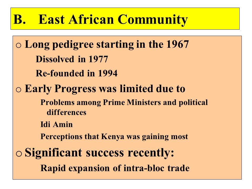 B. East African Community