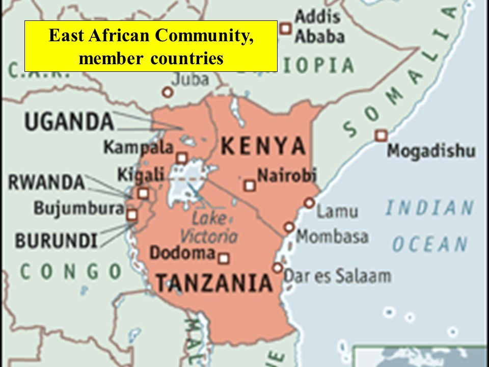 East African Community, member countries