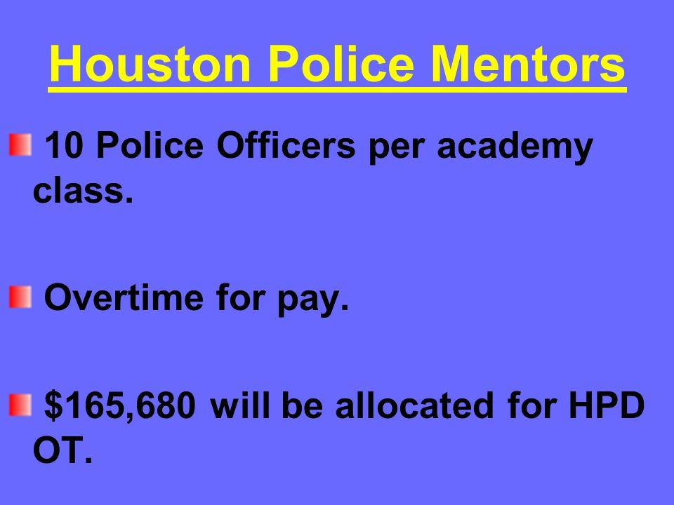 Houston Police Mentors