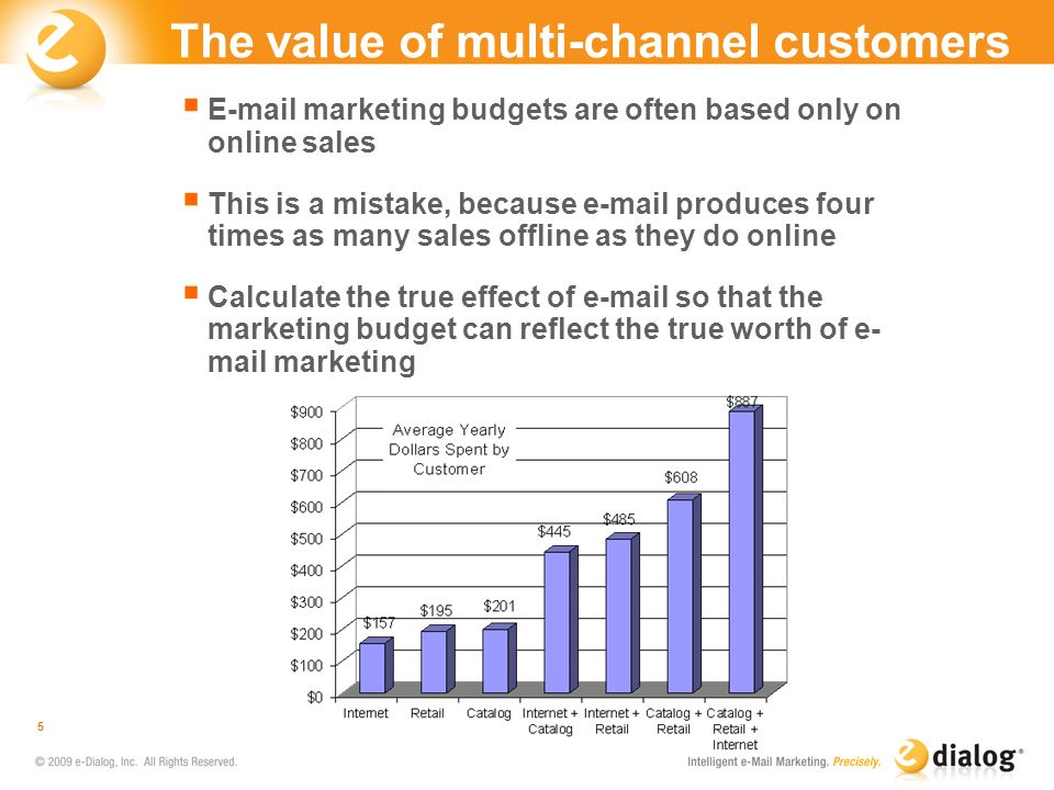 The value of multi-channel customers