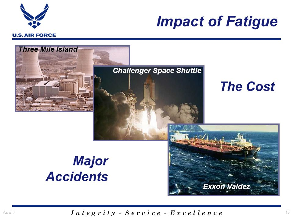 Impact of Fatigue The Cost Major Accidents Three Mile Island