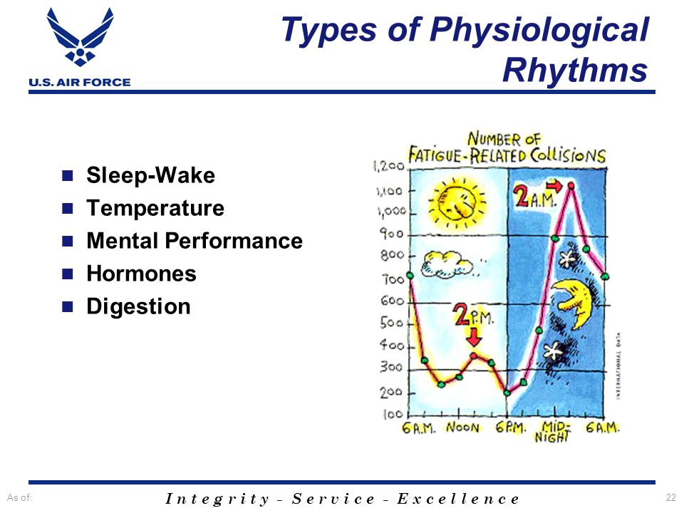 Types of Physiological Rhythms