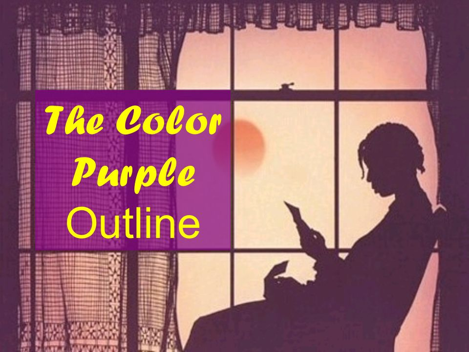 The Color Purple Outline
