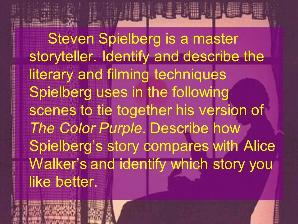 Steven Spielberg is a master storyteller