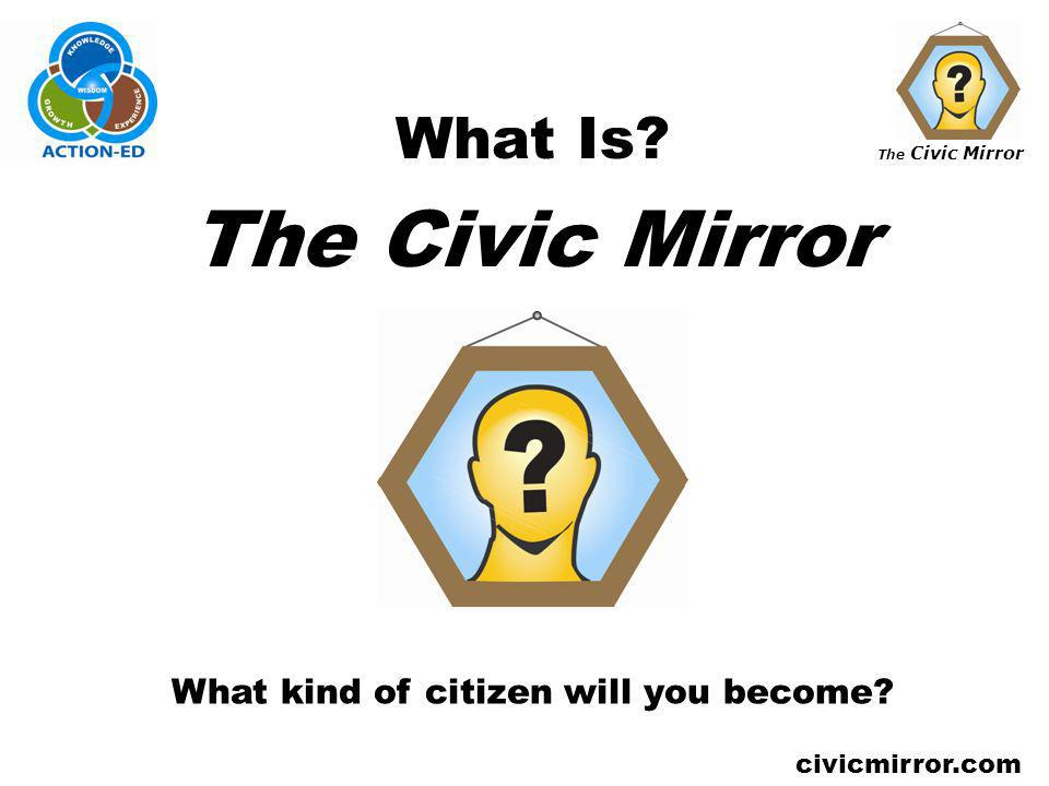 What kind of citizen will you become