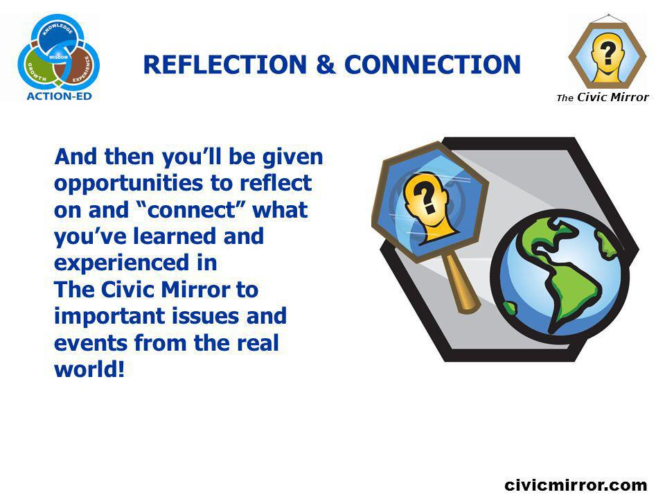 REFLECTION & CONNECTION