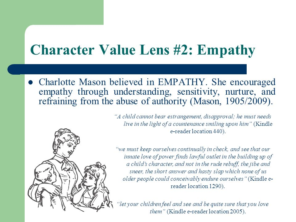 Character Value Lens #2: Empathy