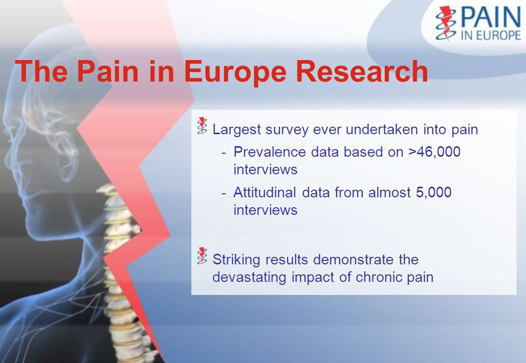 The Pain in Europe Research