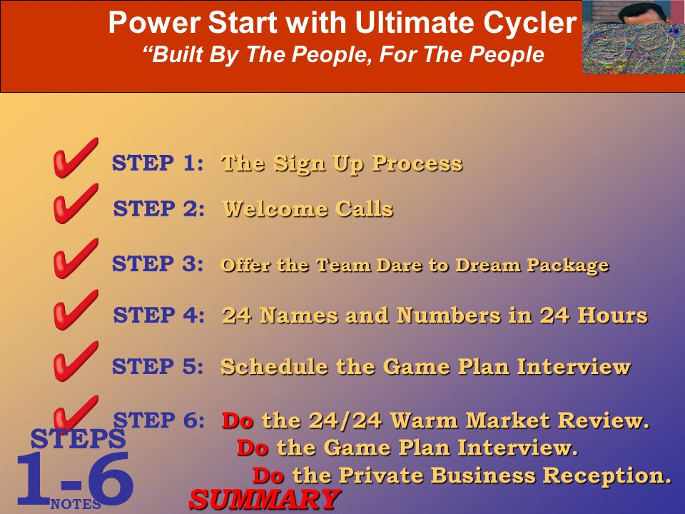 Power Start with Ultimate Cycler