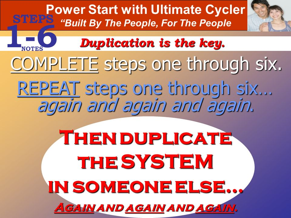 1-6 Then duplicate the SYSTEM in someone else…