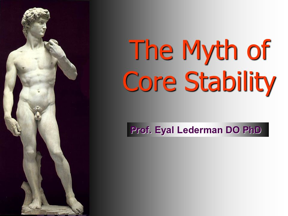 The Myth of Core Stability
