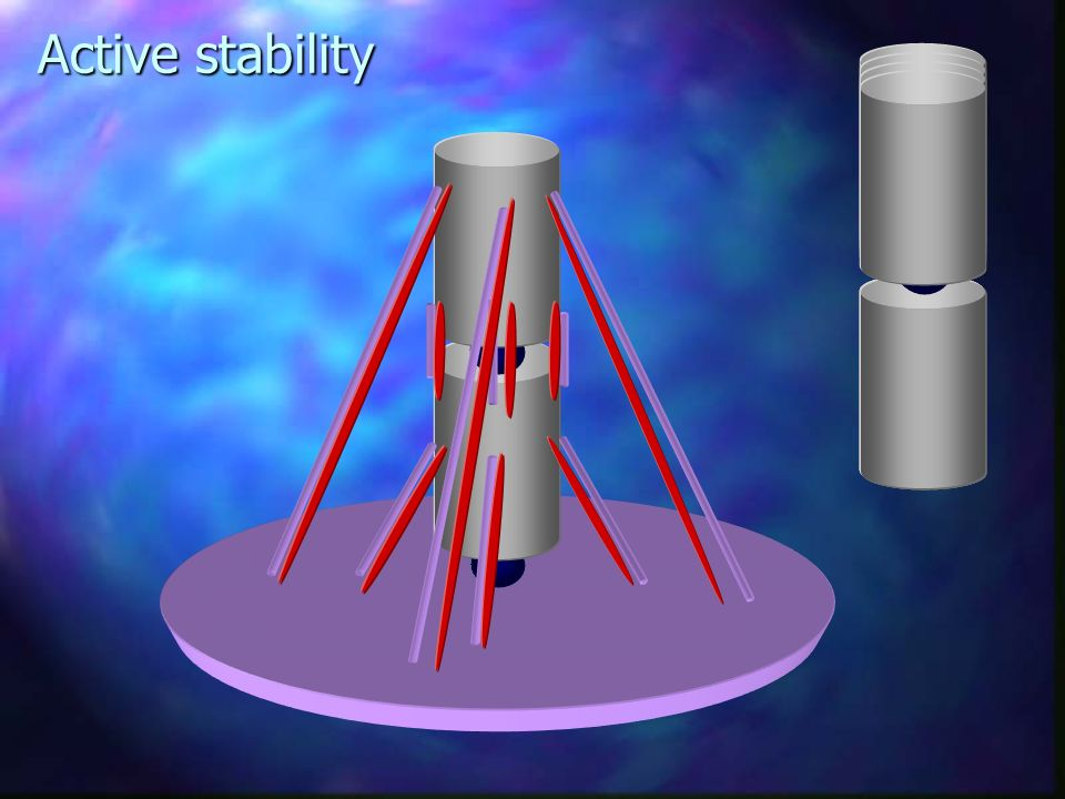Active stability