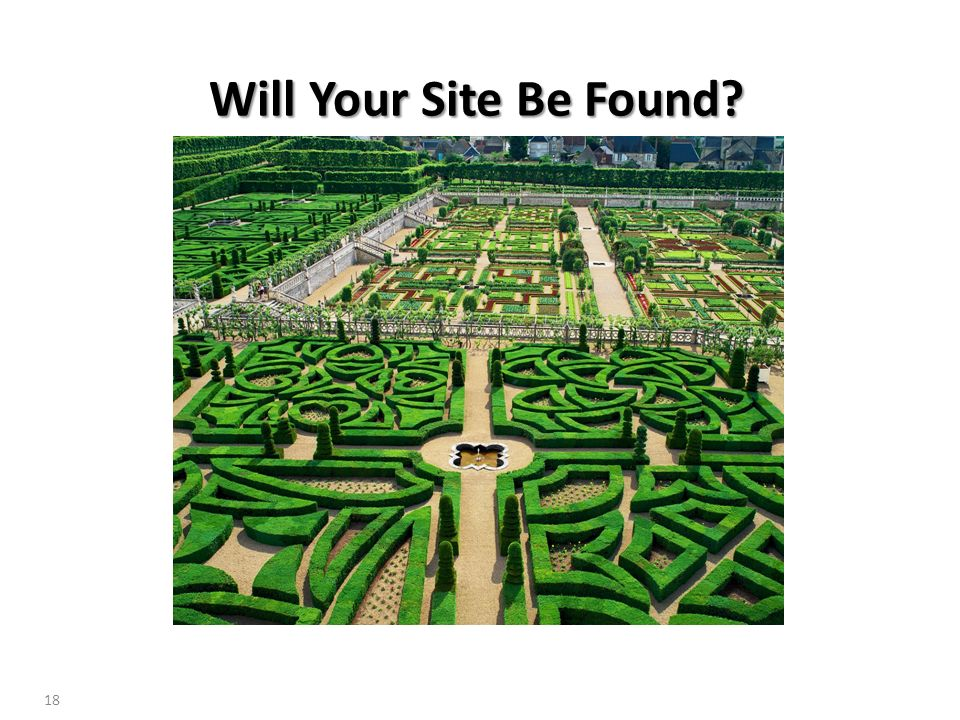 Will Your Site Be Found 18