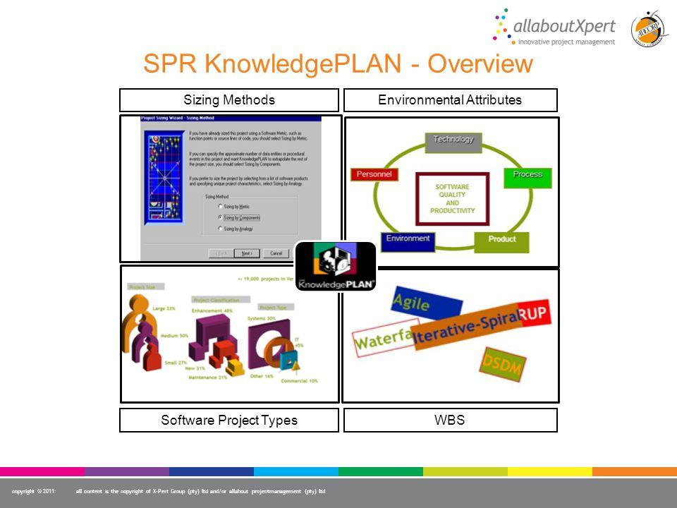 SPR KnowledgePLAN - Overview