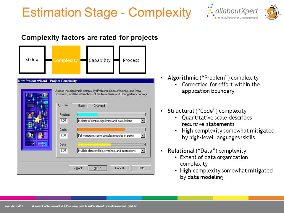 Estimation Stage - Complexity