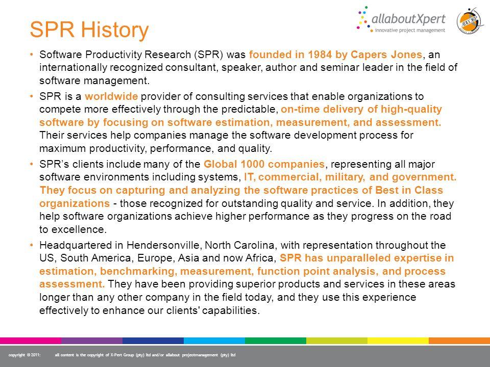 SPR History
