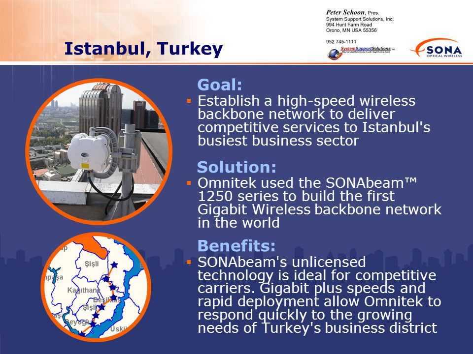 Istanbul, Turkey Goal: Solution: Benefits:
