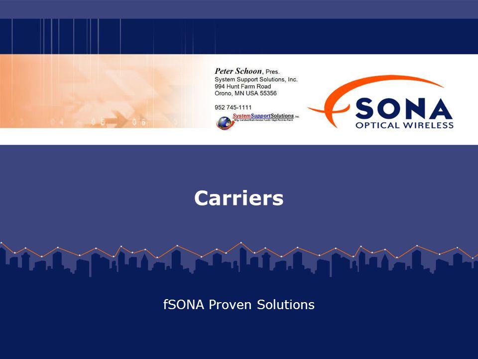 fSONA Proven Solutions
