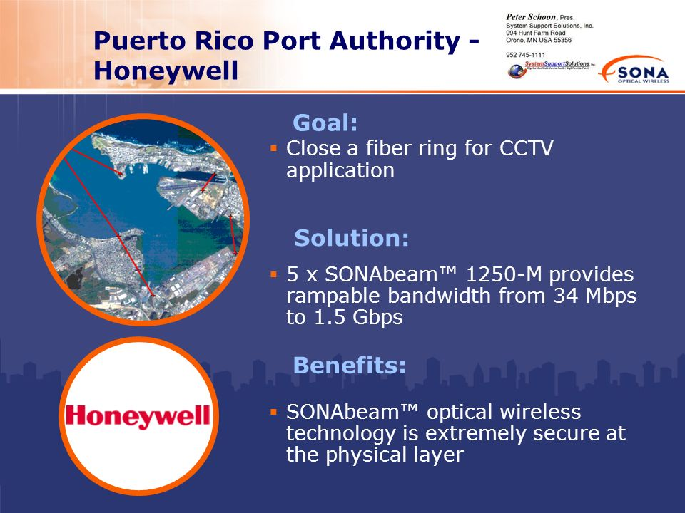 Puerto Rico Port Authority - Honeywell