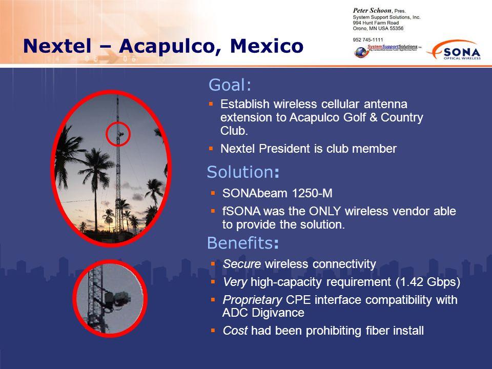 Nextel – Acapulco, Mexico