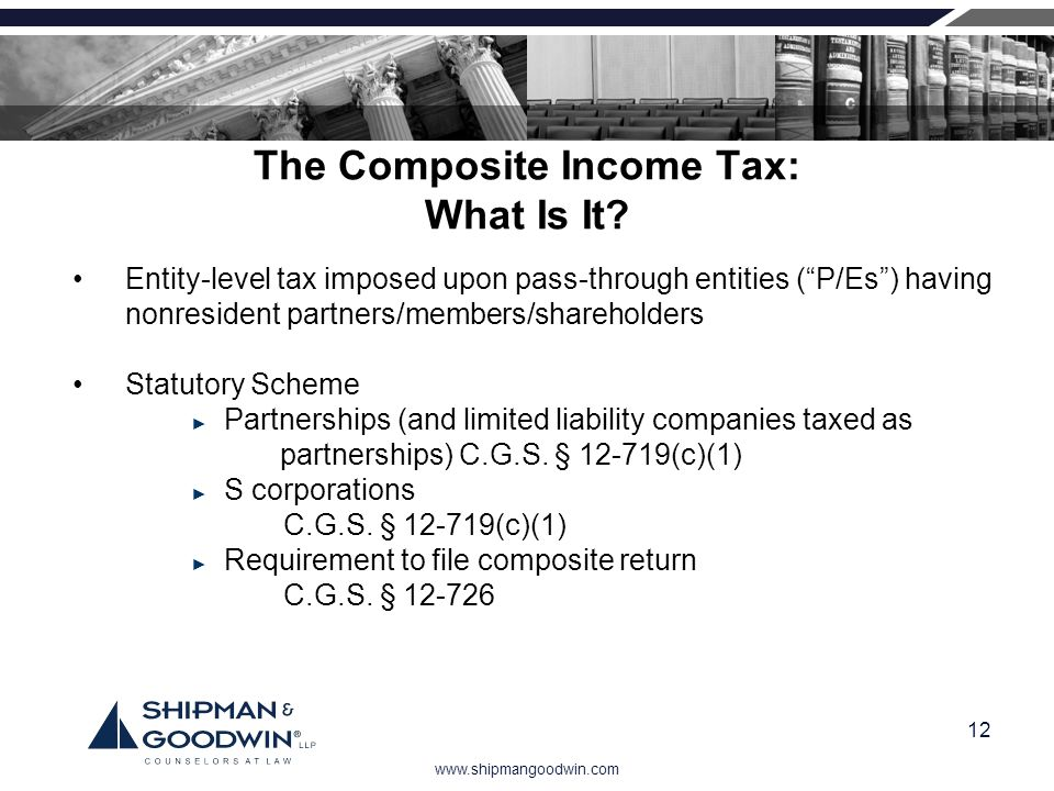 The Composite Income Tax: What Is It