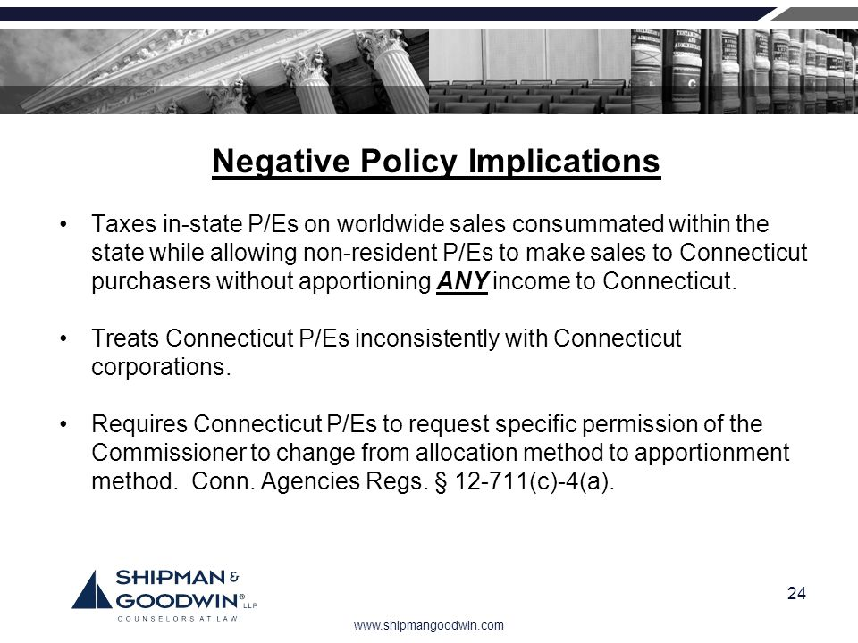 Negative Policy Implications