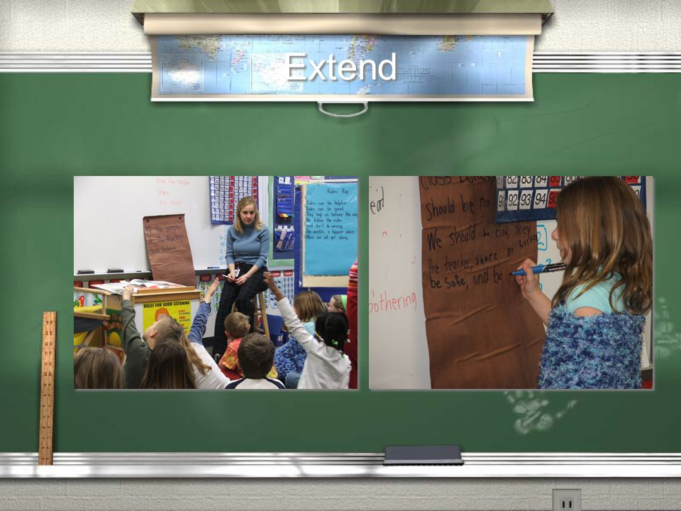 Extend Class constitution—shared writing