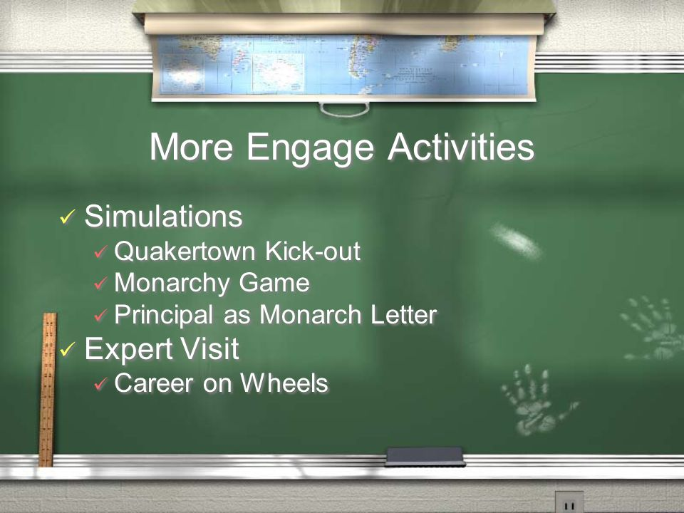 More Engage Activities