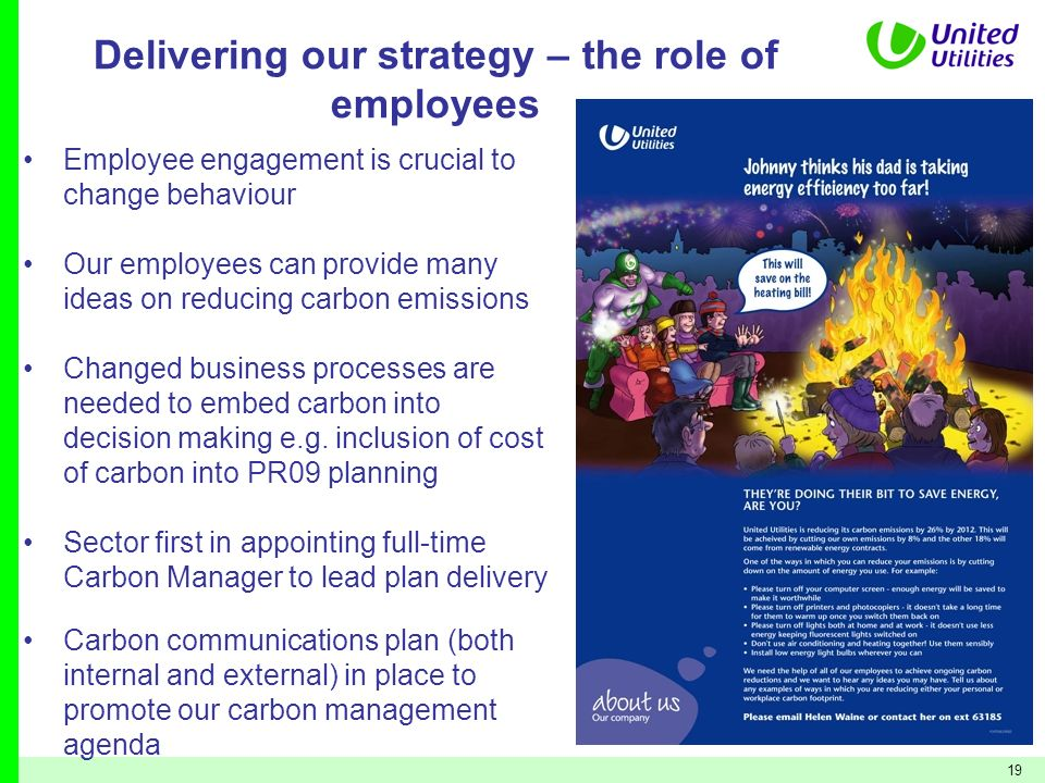 Delivering our strategy – the role of employees