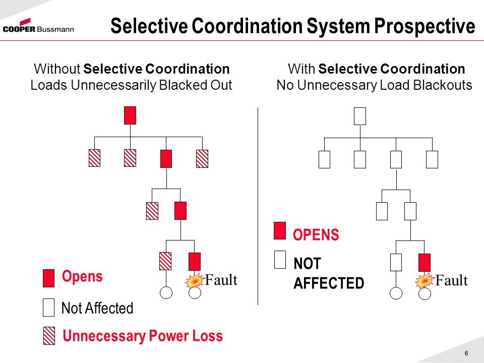 Selective Coordination System Prospective