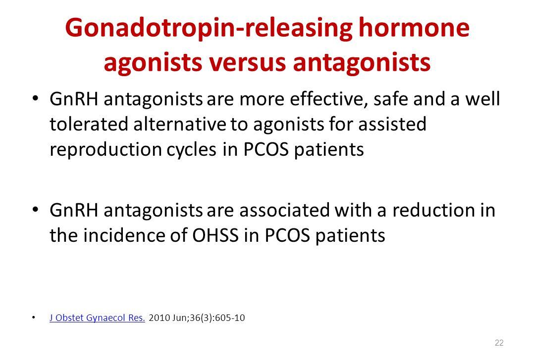 Gonadotropin-releasing hormone agonists versus antagonists