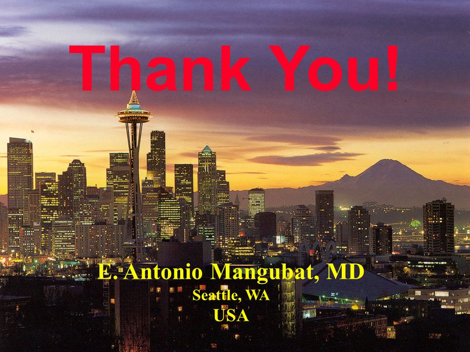 E. Antonio Mangubat, MD Seattle, WA
