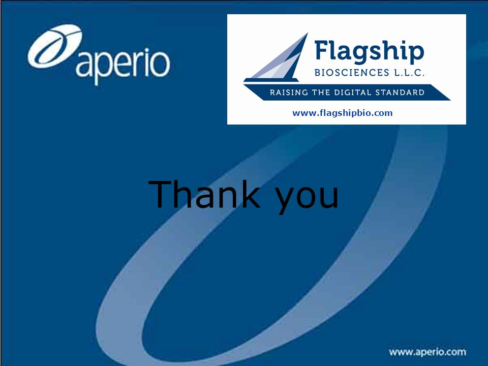 25 March 2017 www.flagshipbio.com Thank you New Targets Committee