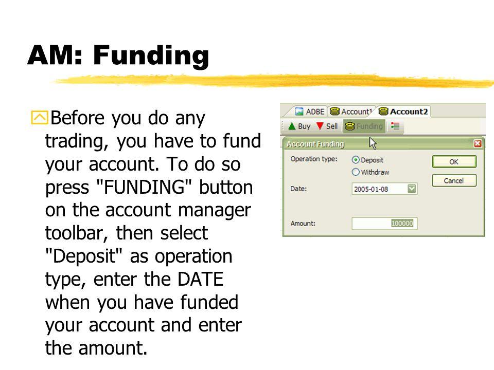 AM: Funding