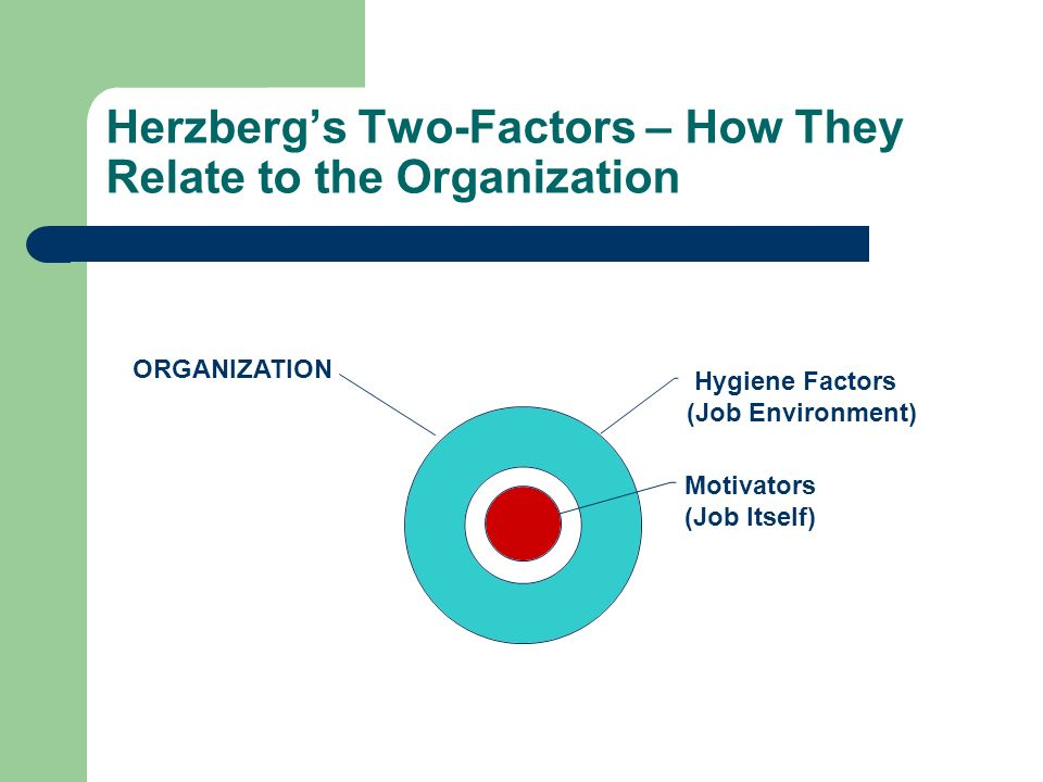 Herzberg's Two-Factors – How They Relate to the Organization