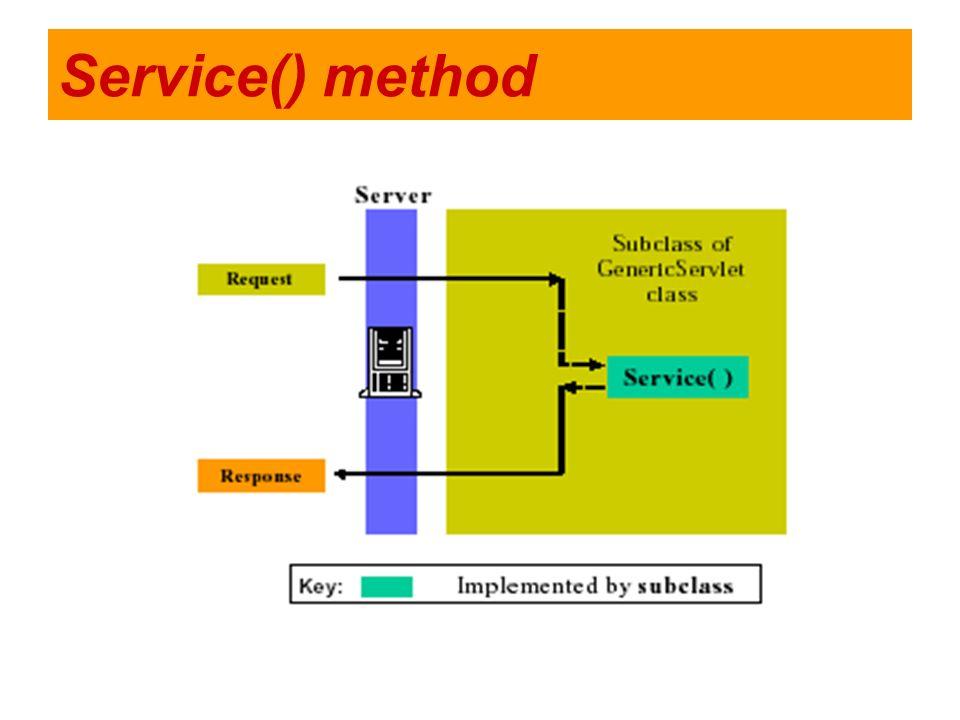 Service() method
