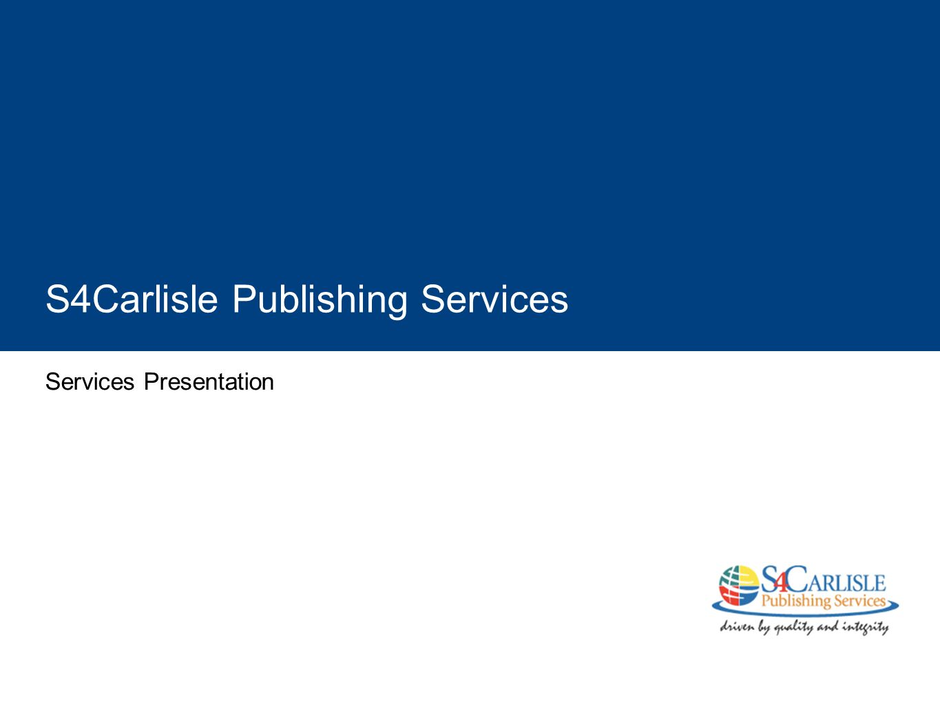 S4Carlisle Publishing Services