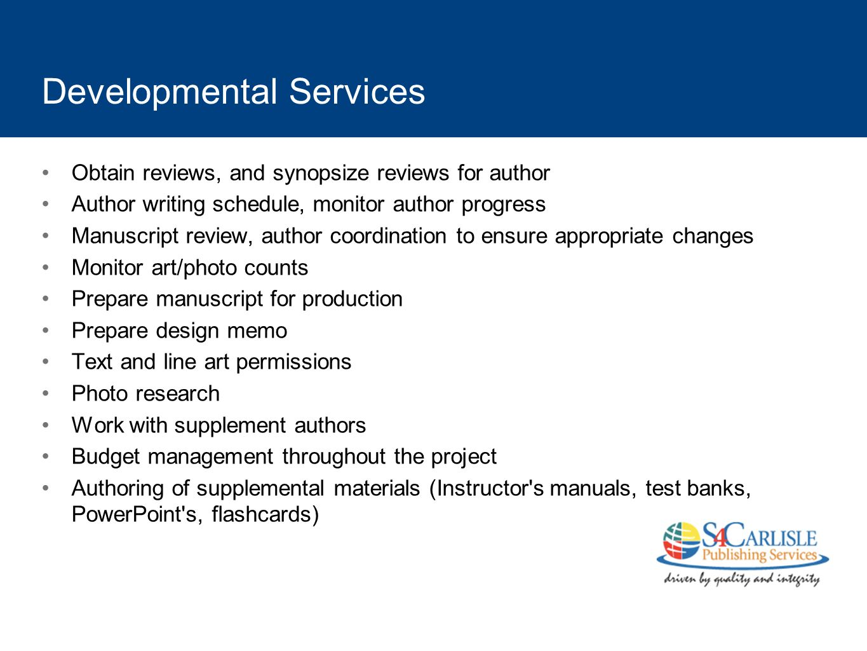 Developmental Services