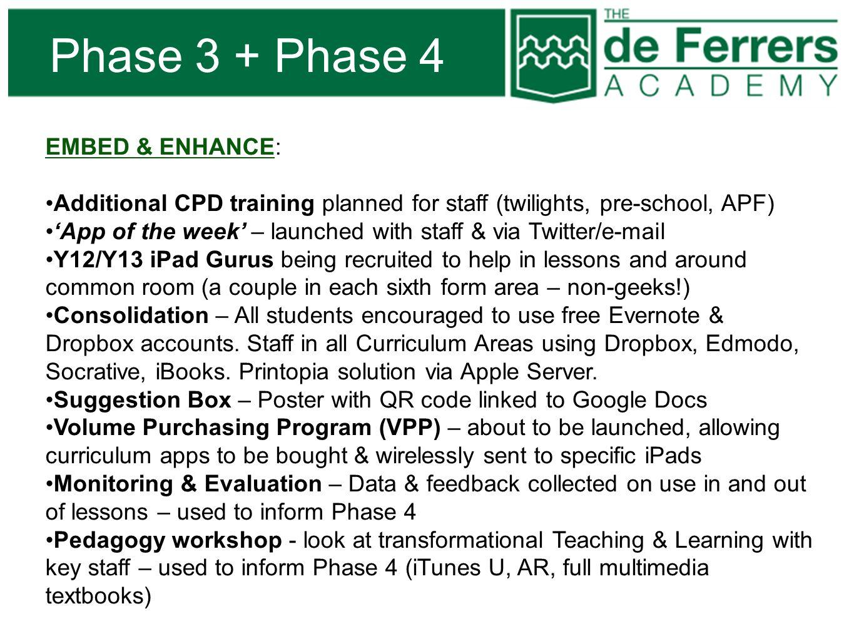 Phase 3 + Phase 4 EMBED & ENHANCE: