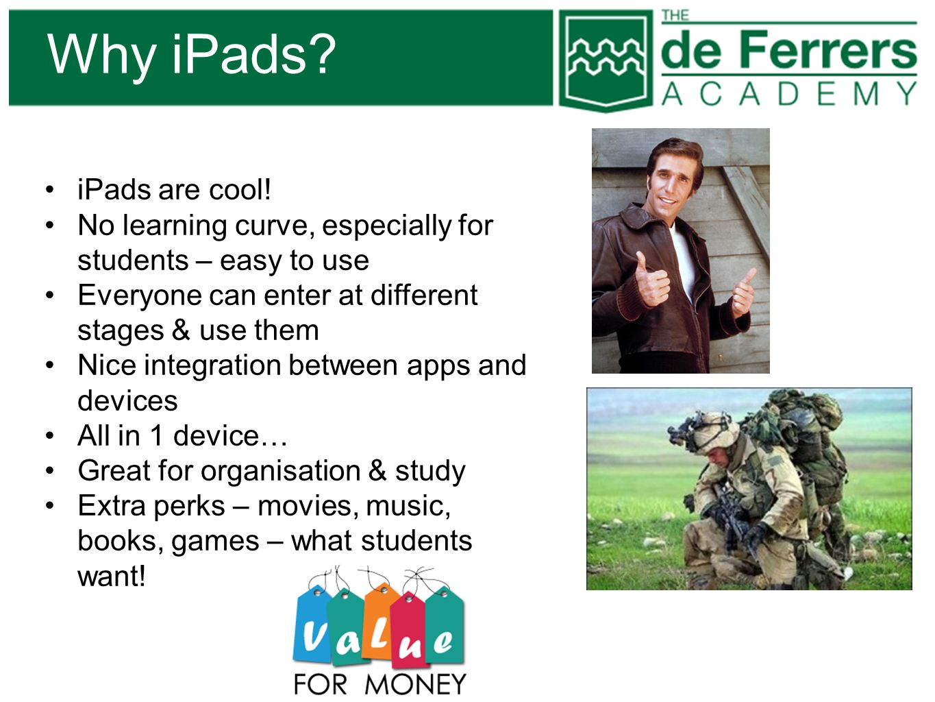 Why iPads iPads are cool!