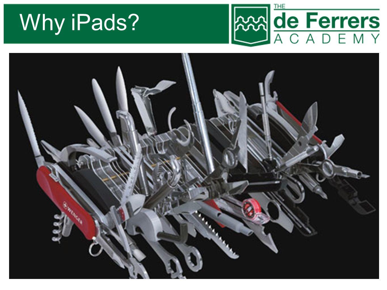 Why iPads