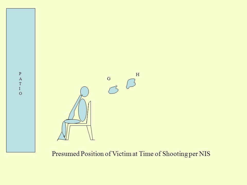 Presumed Position of Victim at Time of Shooting per NIS