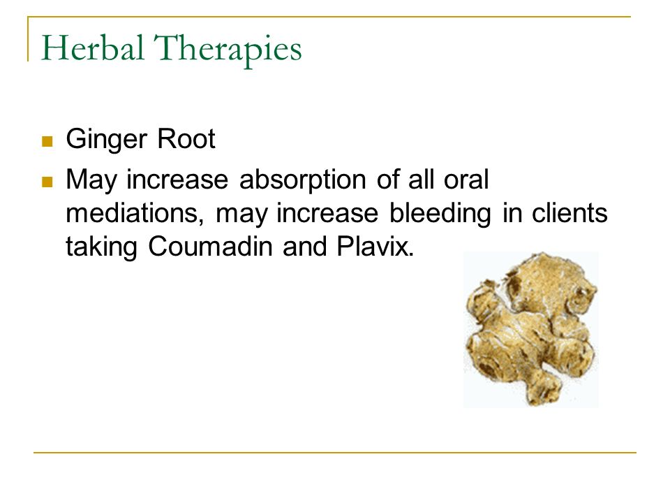 Herbal Therapies Ginger Root